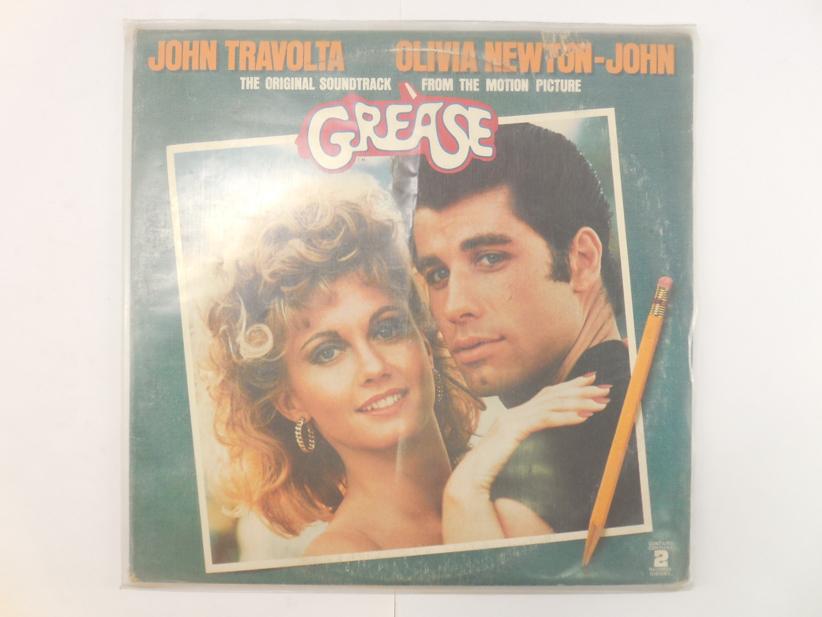 Пластинка The Original Soundtrack Grease - Pic n 261198