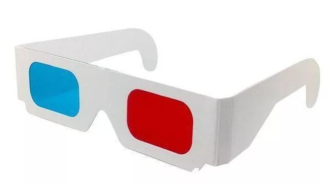 Как сделать из 3d очки