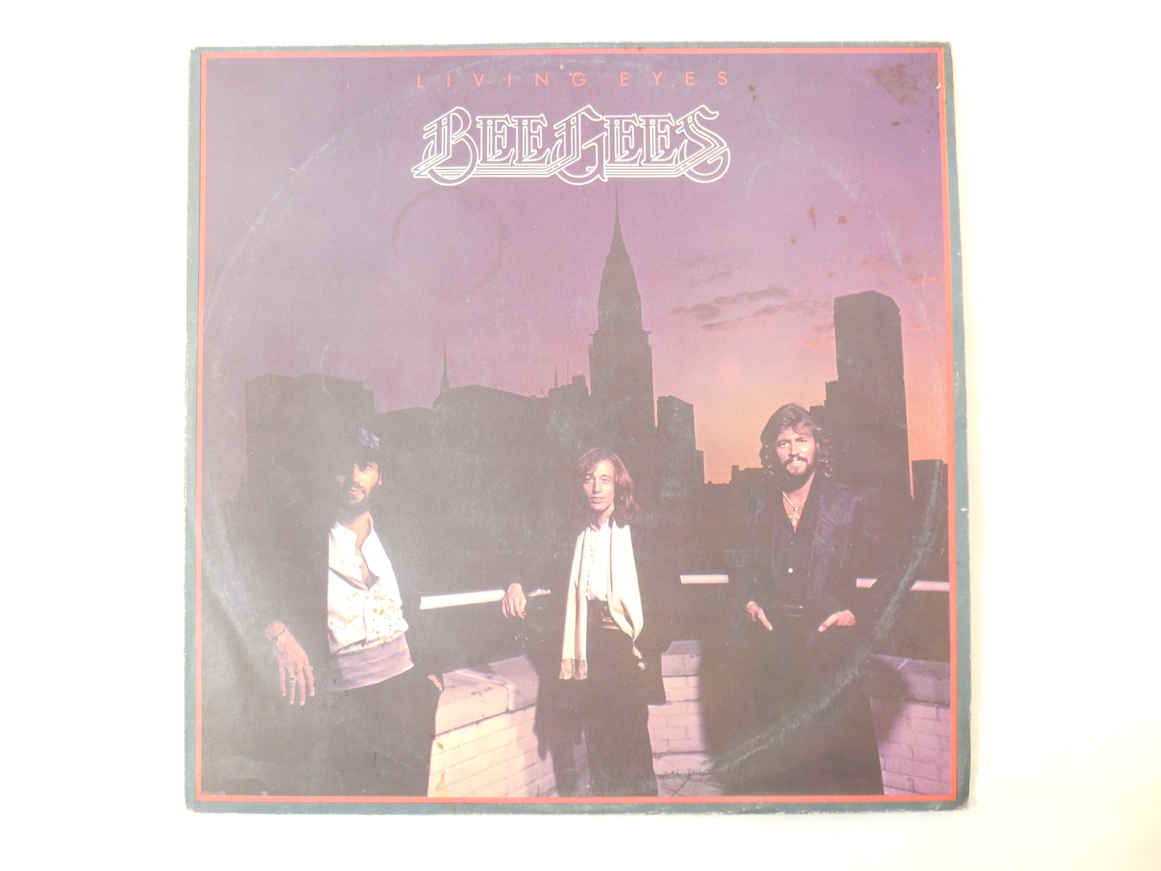 Пластинка The Bee Gees Living Eyes - Pic n 270701