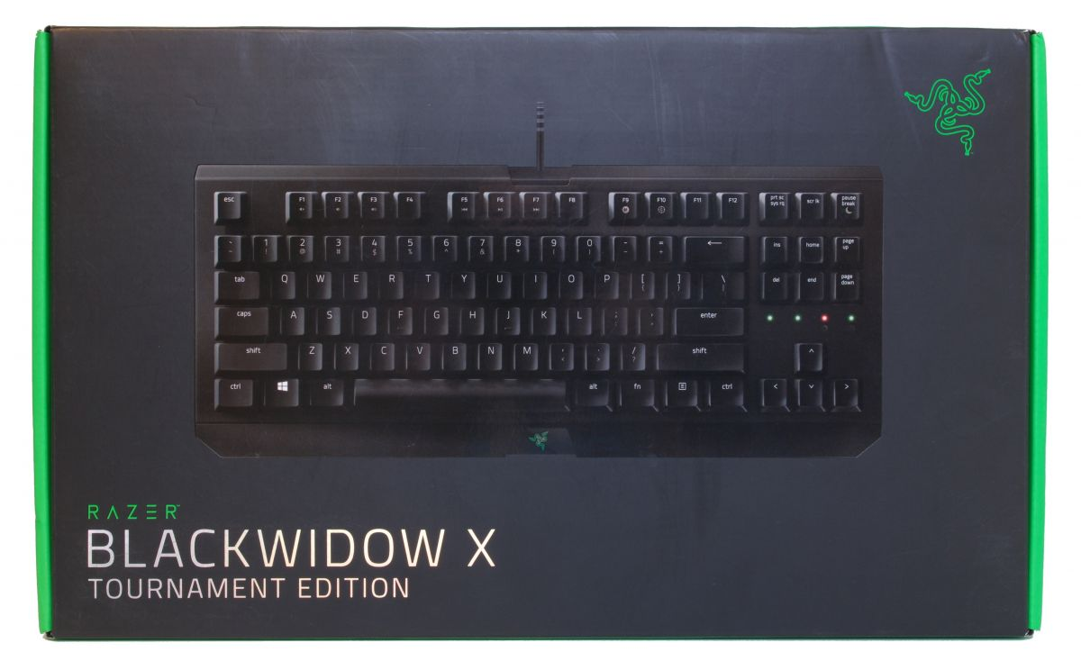 Игровая клавиатура Razer BlackWidow X Tournament - Pic n 278539