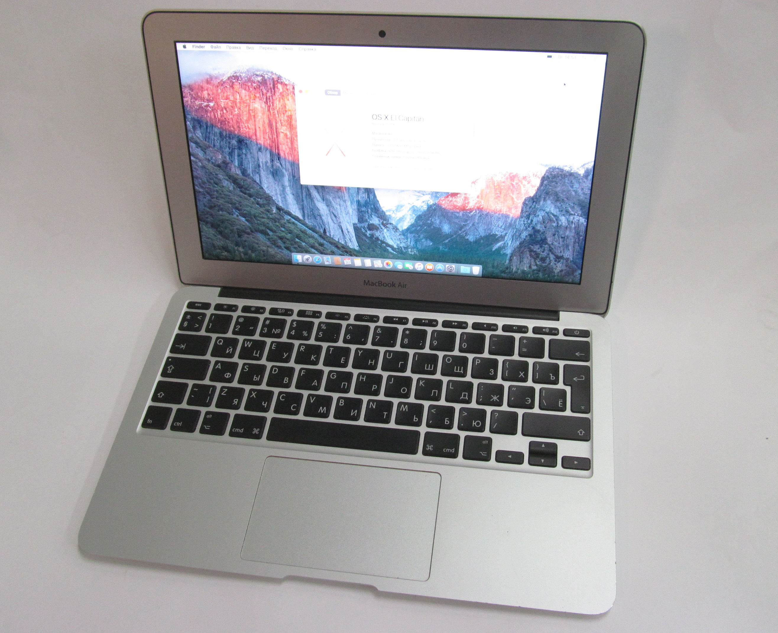 Ноутбук Apple MacBook Air 11 Mid-2012 A1465 - Pic n 278627