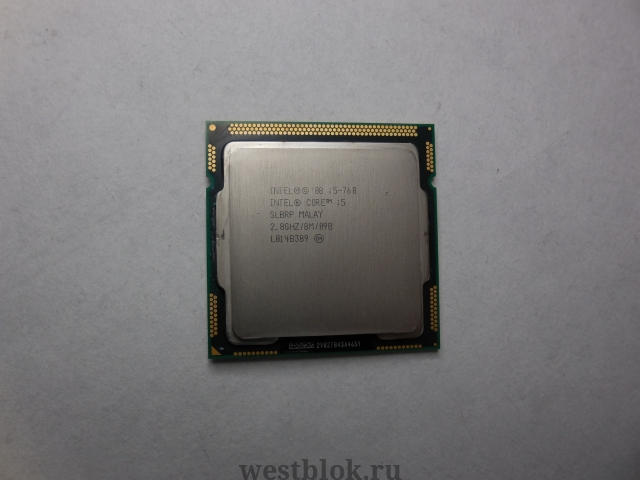 Процессор Intel Core i5-760 2.80GHz  - Pic n 53880
