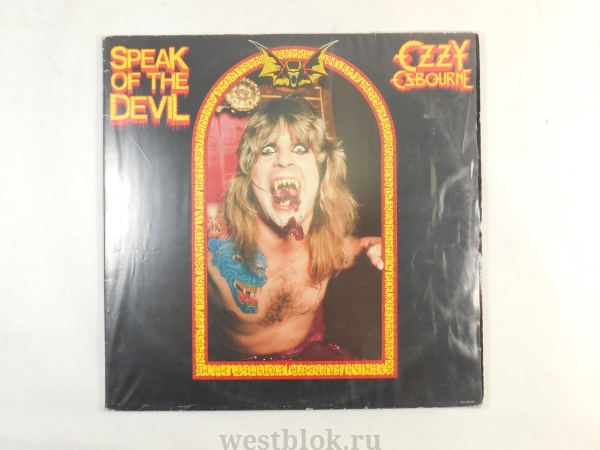 Грампластинка Ozzy Osbourne — Speak of the Devil - Pic n 64113