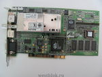 Видеокарта PCI 8Mb ATI All in Wonder PRO + TV Tune