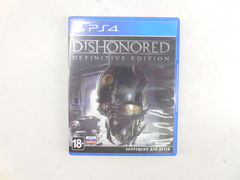 Игра для PS4 Dishonored: Definitive Edition