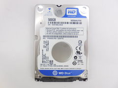 Жесткий диск 2.5 HDD SATA 500Gb WD Blue Mobile