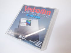 MO Disk 230mb Verbatim 512 Bytes Rewritable