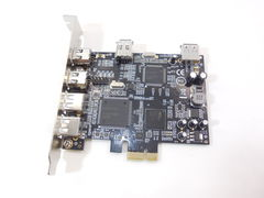 Контроллер Combo PCI-E x1 to USB 2.0 + FireWire