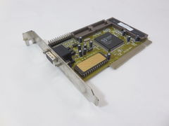 Раритет! Видеокарта PCI S3 Trio64V2/DX 1Mb