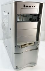 Корпус Thermaltake Swing VB6000SWS (Silver)