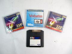 Диск ZIP disk 100 MB IBM formated