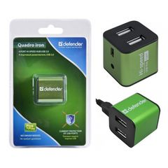 USB-Hub Defender Quadro Iron 4 x USB 2.0