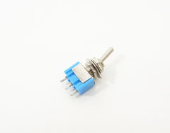 Мини тумблер ВКЛ/ВЫКЛ 3Pin 6A125VAC ON-ON - Pic n 291587