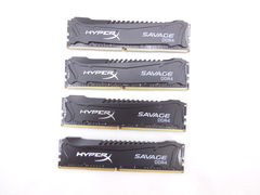 Оператив. память DDR4 32GB KIT 4x8GB HyperX Savage