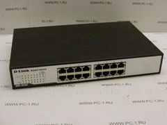 Коммутатор (switch) D-link DGS-1016D ,16 портов