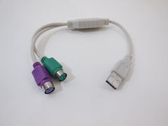 кабель-адаптер USB AM — 2xPS - Pic n 43219