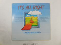 Грампластинка Larry Mayfield Its All Right