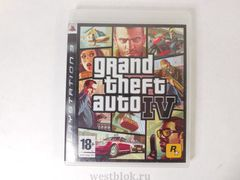 Игра для PS3 Grand Theft Auto IV (GTA 4)